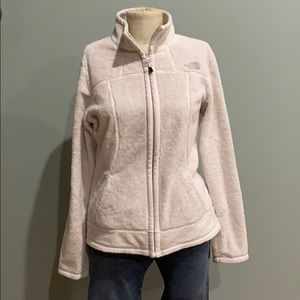 The north face zip up woman's sweater